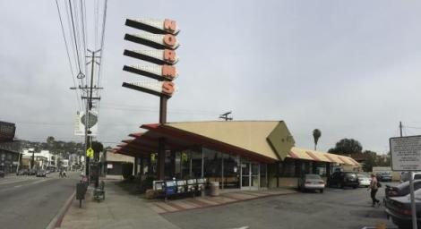 The Norms restaurant in West Los Angeles, California